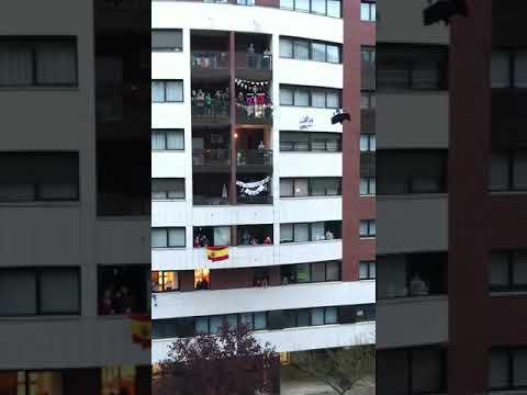 El Encuentro procesiona por los aires en el barrio de G-3