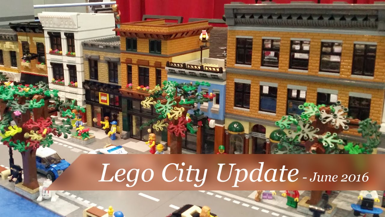 how to make a lego city layout