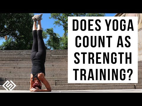 Does Yoga Count As Strength Training? Yoga Workout In Central Park | NYC