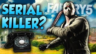 FAR CRY 5 - SERIAL KILLER EASTER EGG?! (MORE CREEPY PHONE CALLS) | Far Cry 5 Gameplay