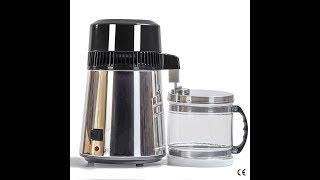 Бытовой Дистиллятор Воды на 4 литра! 1 литр в час! Нержавейка 100%