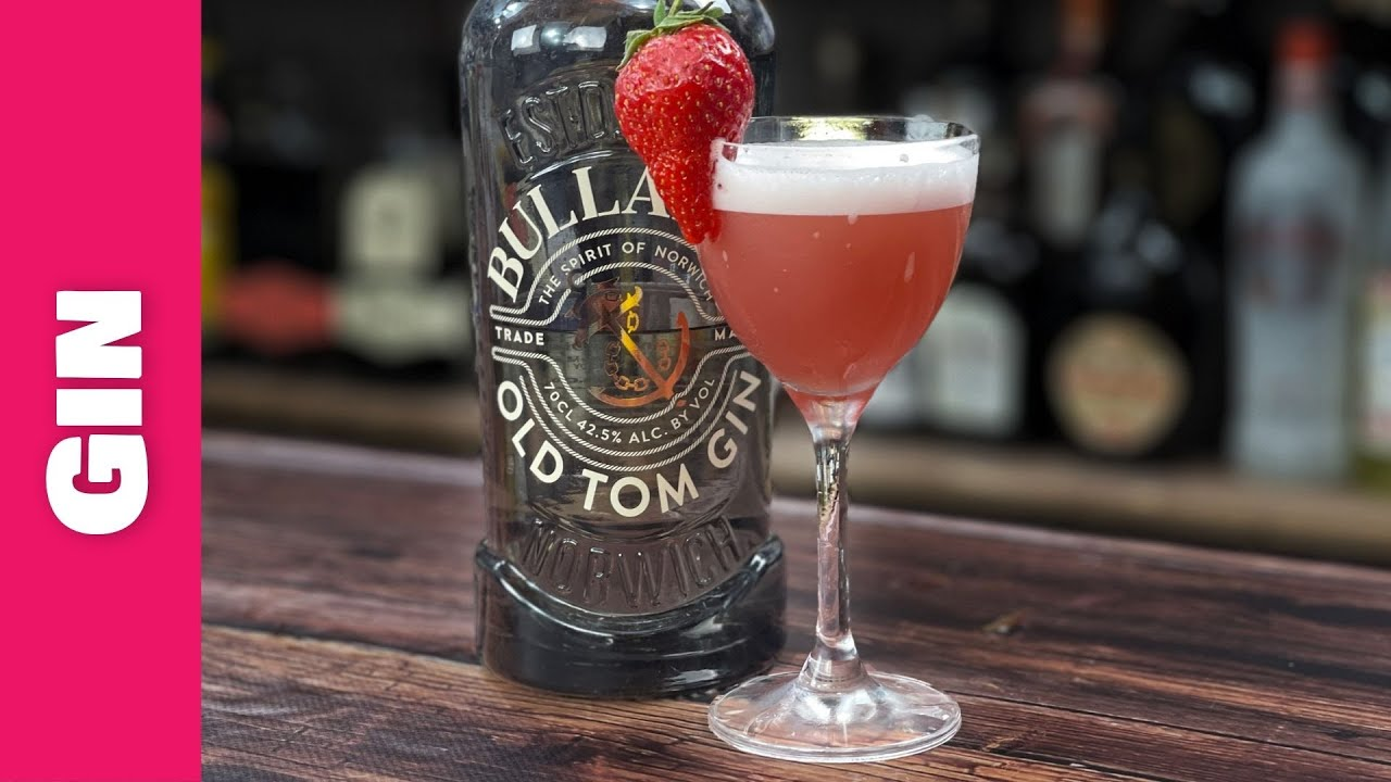 Easy Gin Cocktails Recipes - with STRAWBERRY & HIBISCUS