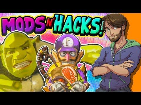 FUNNY Zelda Breath of the Wild MODS & HACKS! - SpaceHamster