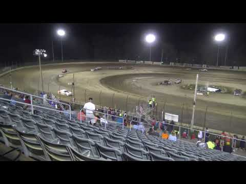 7-27-19 PLYMOUTH SPEEDWAY, PLYMOUTH, IN THUNDER STOCK - F. - dirt track racing video image