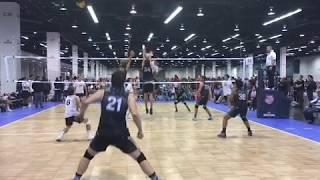 Matej Martinca - AUU West Coast Champioship 2018 Volleyball Highlights