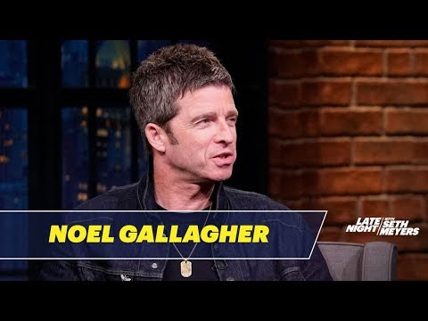 Cole Selleck - Noel Gallagher Talks Oasis Reunion On Seth Meyers