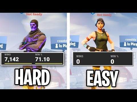 Is Fortnite EASIER TO WIN On A NEW ACCOUNT? (Easy Lobbies Experiment)