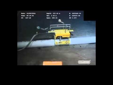 Pipeline Inspection - Sea Turtle / Magna Scan - ROV footage