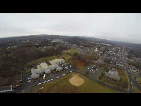 Aerial View of Mohawk Avenue School, Sparta, NJ