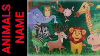 Learn ANIMAL names for kids| animal names| know your ANIMALS|Learn zoo ANIMALS| ANIMALS for kids