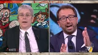 Il ministro della Giustizia Bonafede si confronta con i giornalisti Damilano e Giordano