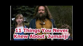 11 Things You Never Knew About 'Jumanji'