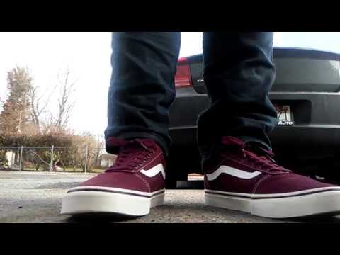 vans ward low top skate shoe