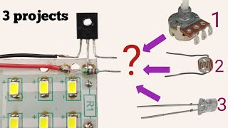 Top 3 awesome circuit | Same circuit just change 1 component