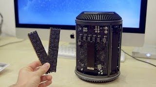 How To: Apple Mac Pro RAM Upgrade! (Late 2013)
