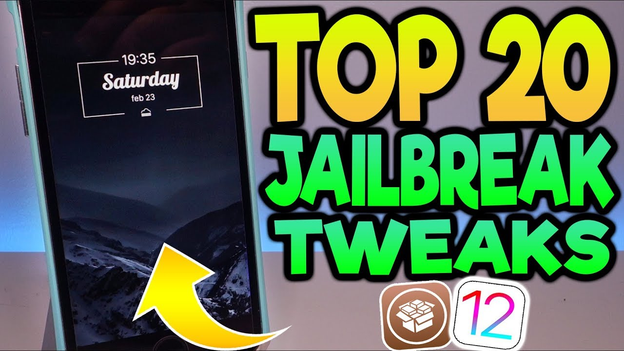 Top 20 Cydia Tweaks For iOS 12-12 1 2 Unc0ver Jailbreak!