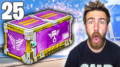 25 NEW ZEPHYR ROCKET LEAGUE CRATE OPENING!