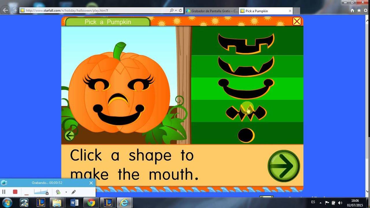 halloween game pick a pumpkin youtube