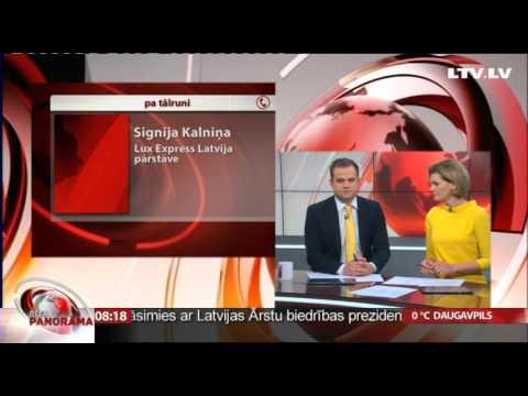 Igaunijā avarē autobuss. Saruna ar Lux Express Latvia pārstāvi Signiju Kalniņu.