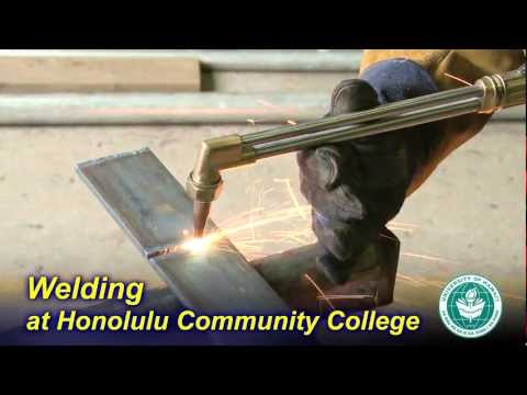 Welding Technology at Honolulu Community College