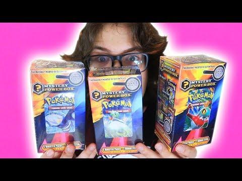 3 Pokemon Mystery Power Boxes, 1 Video