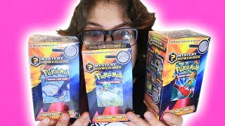3 Pokemon Mystery Power Boxes, 1 Video