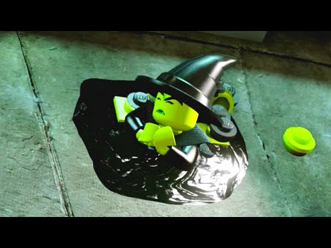 Lego Dimensions Break Into The Castle Melt The Wicked Witch Youtube