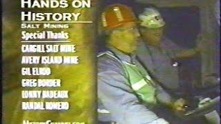 Salt Mining Avery Island 2002