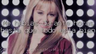 Hannah Montana - True Friend [Traducida al Español]