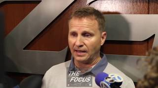 Washington Wizards Draft Night - Ernie Grunfeld and Scott Brooks on Troy Brown