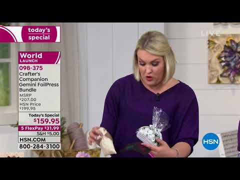 HSN | Crafter's Companion 11.06.2018 - 03 PM