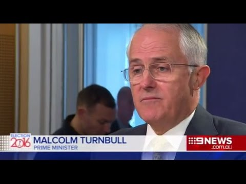 Malcolm's majority: Turnbull emerges from Point Piper at high noon