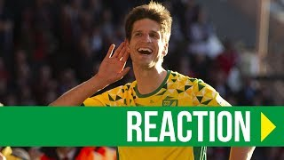Nottingham Forest 1-2 Norwich City: Timm Klose Reaction