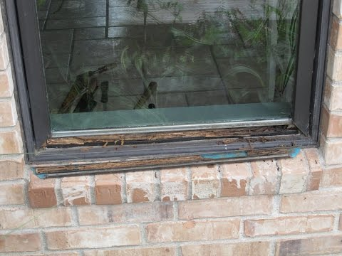 Repair Pella Window rot