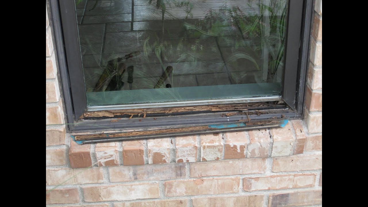 Repair Pella Window rot - YouTube