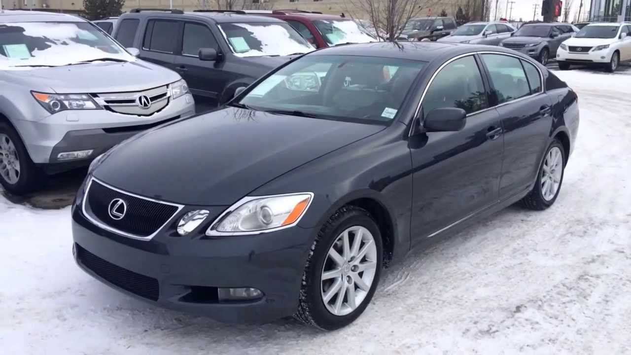 pre owned 2006 lexus gs 300 awd review calgary youtube. Black Bedroom Furniture Sets. Home Design Ideas