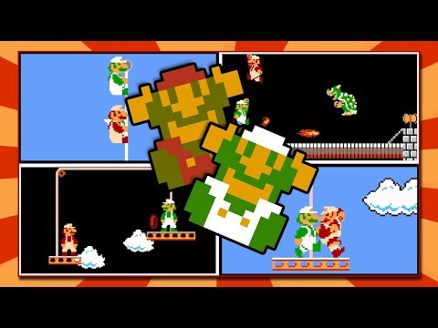 2 Players At Once In Super Mario Bros. NES | 2 Players Hack