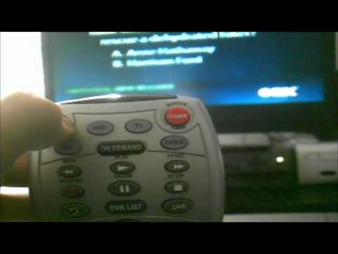 How to program you cox remote to your tv