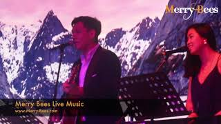 John Lye & Gen (feat Violinist) - Highlights at Ritz Carlton (Emcee + Bilingual songs)