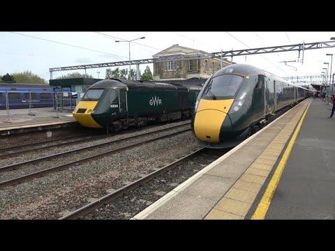 Passenger Trains @ Swindon, GWML + GVL - 12/05/18