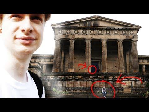 Exploring Abandoned Old Royal High School Edinburgh