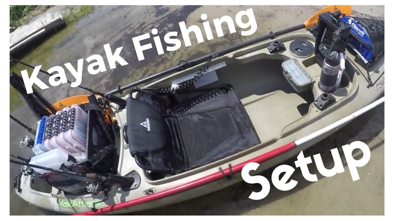 Fishing Kayak Setup Ascend Fs10 Like And Subscribe For More Youtube