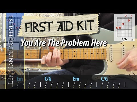 First Aid Kit - You Are The Problem Here | guitar lesson