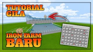 Download lagu ( MCPE ) Iron Golem Farm Mcpe 1.16 Simple - Minecraft Tutorial Indonesia