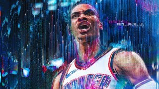 Download Best Moments Of Russell Westbrook's Third Consecutive Triple Double Season | Game Highlights Mp3 and Videos