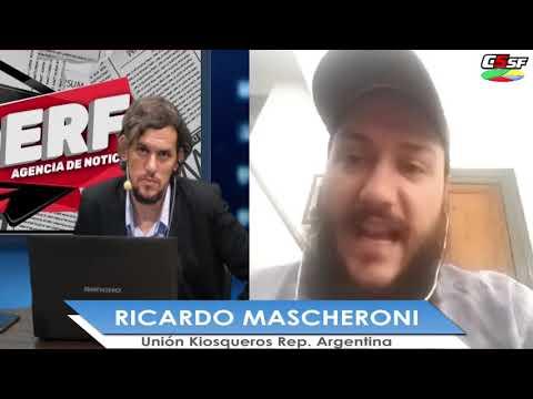 Ricardo Mascheroni: El kiosco es un punto constante de robos
