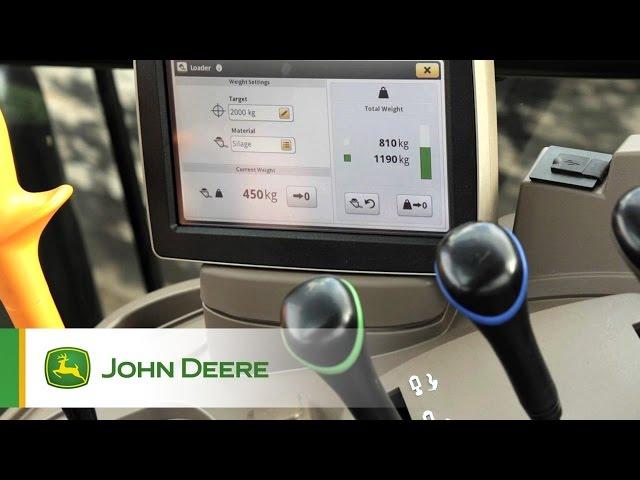 Caricatori Frontali John Deere - Livellamento elettronico (ESL) e sistema DWS