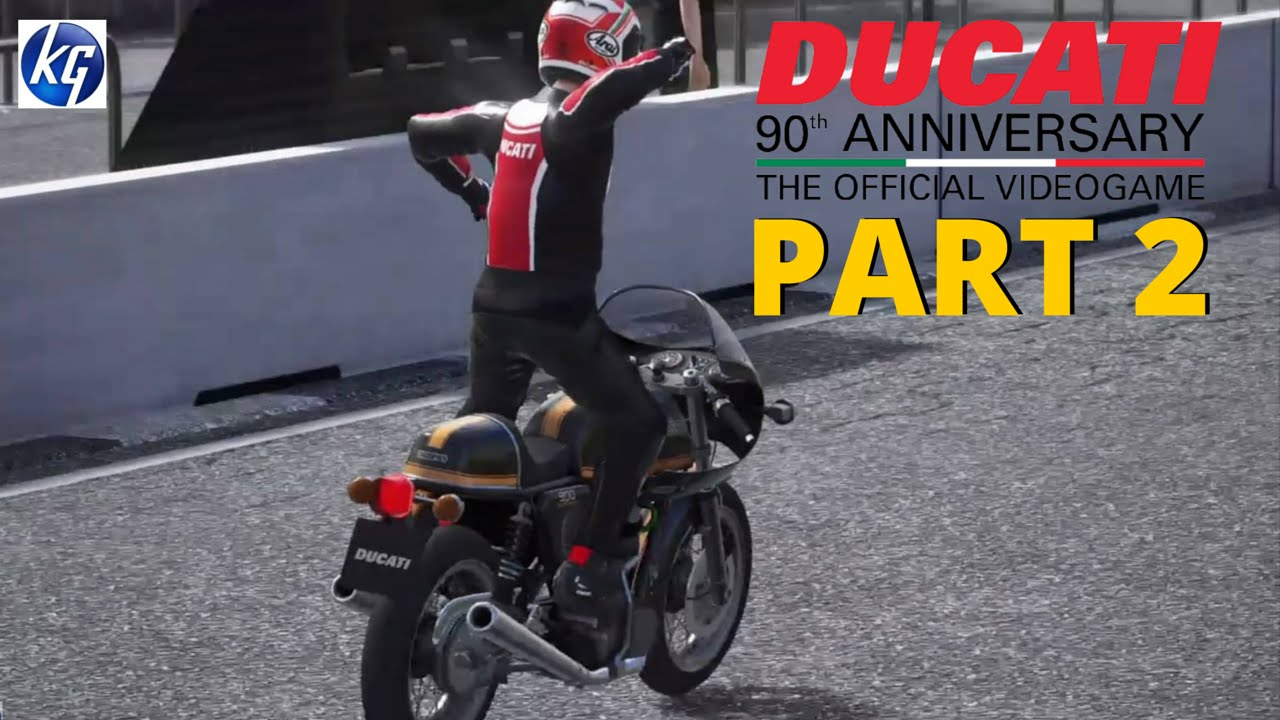 ducati 90th anniversary part 2 - hitting the 70s - full game - ps4