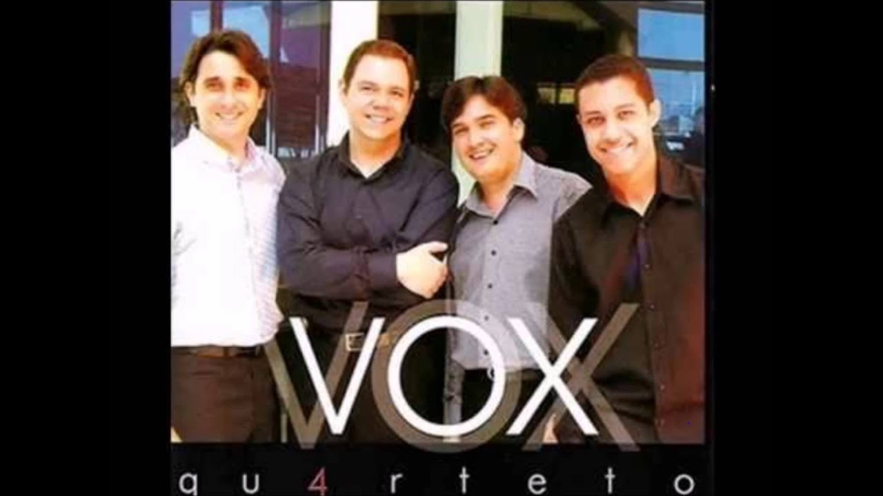 partituras quarteto vox
