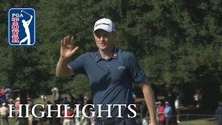 Justin Rose's Round 2 highlights from TOUR Championship 2018